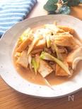 ご飯が進む・超簡単♡厚揚げと鶏ひき肉の甘味噌ねぎ炒め煮
