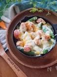 ポリポリ食感!温製スナップチーズサラダ