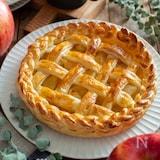 アップルパイ。冷凍パイシート&レンジりんご&型なしで簡単!