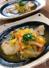 『旨味が詰まったほっこり優しい味♡『白身魚の野菜あんかけ』』
