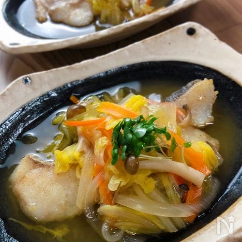 旨味が詰まったほっこり優しい味♡『白身魚の野菜あんかけ』