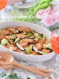 鶏胸肉と中華野菜のオーブン炒め♡1分動画付き