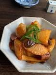 干し野菜レシピ☆干し大根のバタポン煮