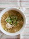 くずし豆腐と卵のとろとろ生姜スープ