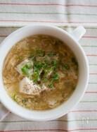 『くずし豆腐と卵のとろとろ生姜スープ』#簡単#ヘルシー