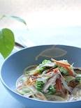 たっぷり野菜の!ちゃんぽん風 豆乳スープスパゲティ