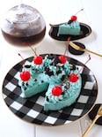 アレを使って簡単!チョコミントレアチーズケーキ