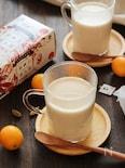 東方美人茶の金柑ミルクティー