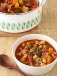 具だくさんトマト味噌スープ