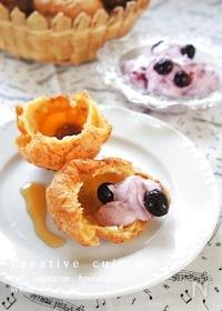 『ブルーベリー♪ホイップクリームチーズ』