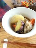 根菜と鶏肉の和風ポトフ