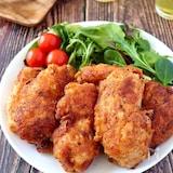 辛旨〜♡鶏むね肉で作るレッドホットチキン【X′masにも♪】