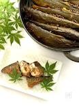 ストウブ鍋で落ち鮎(子持ち鮎)の甘露煮
