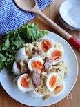ゆで卵とウインナーのごちそうポテトサラダ
