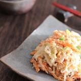 津軽の郷土料理にんじんの子和え【#常備菜】