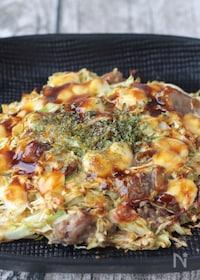 『小麦粉を使わない 牛すじダイエットお好み焼き!』