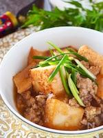 ご飯がススム*厚揚げと豚ひき肉のとろとろとろみ煮