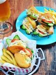 さつま揚げの野菜サンド