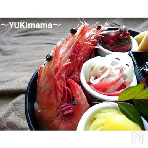 お弁当に〜しっとり海老の旨煮(作りおき)〜