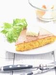 アスリート男子おやつ『にんじん&クリームチーズのパンケーキ』