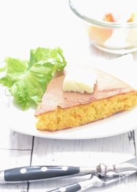 『アスリート男子おやつ『にんじん&クリームチーズのパンケーキ』』