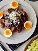 もっと食べたい!根菜と豚バラ肉の甘味噌炒め。