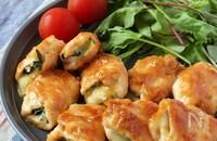 食べすぎ注意!鶏むねしそチーズの甘味噌焼き