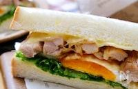 ランチやピクニックに!耳まで美味しい『照りたまチーズサンド』
