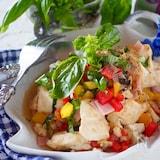 イタリア風炒り豆腐*たまには洋風豆腐料理#作り置き#時短