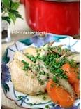 圧力鍋で作る鶏手羽先と根菜の味噌煮