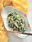 菜の花とツナのサッと炒め