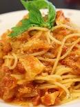 トンノ~ツナとチーズのトマトパスタ
