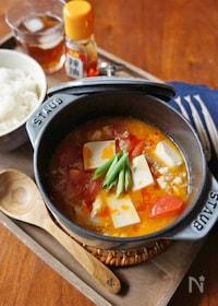 『トマト入りマーボー豆腐』