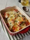 ナスとズッキーニのモッツァレラチーズ焼き