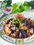 【火を使わず主菜完成】とろとろ茄子のピリ辛コクうま肉味噌炒め