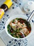 焼かない・包まないですぐおいしい♡『餃子スープ』