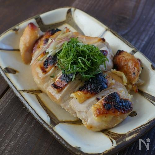 鶏むね肉のしっとり西京焼き