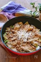 白菜と豚バラの旨ぽん蒸し煮