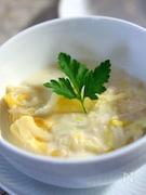 白菜とホタテのクリーム煮