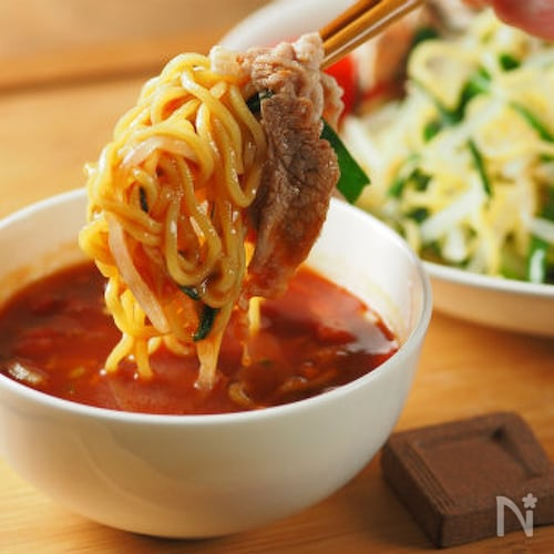 冷しゃぶトマトつけ麺