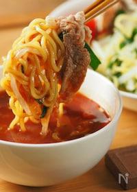 『冷しゃぶトマトつけ麺』