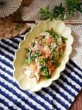 『春満載♡』菜の花と豚肉のチャンプルー
