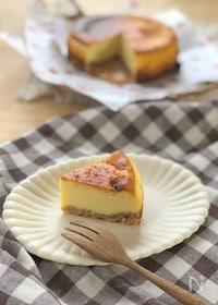 『基本のベイクドチーズケーキ』