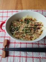 3分朝食おかず☆お好み焼き風ココット