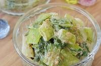 あと一品!にぴったり♬海苔の佃煮で【青梗菜の海苔マヨ和え】