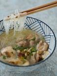 グルテンフリー★スープは鶏だけなのに濃厚白湯麺