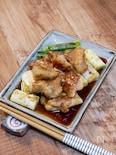 鶏もも肉と白ネギの焼き鳥風炒め