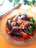 暑い日にぴったり♡なすとミニトマトのレンチンイタリアンサラダ