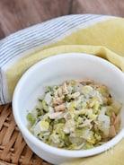 白菜とツナのネギ塩サラダ