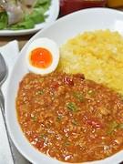 【市販ルウ・小麦粉不使用】ひき肉と野菜のカレー
